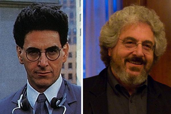 Harold Ramis, antes y después.  Fotos: Inside Pulse y Justin och/Hudson Union Society.