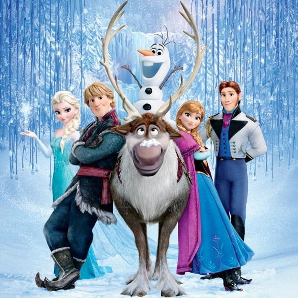 """Los personajes de """"Frozen""""  Foto: Walt Disney Animation Studios."""