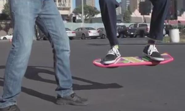 Captura del vídeo de la HUVr Board.