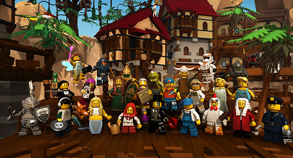 LEGO Minifigures Online.  Foto: LEGO.