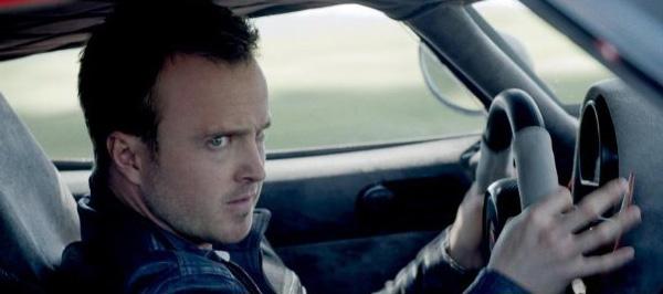 "Aaron Paul es Tobey Marshall en ""Need For Speed"".  Foto: DreamWorks II DIstribution Co."