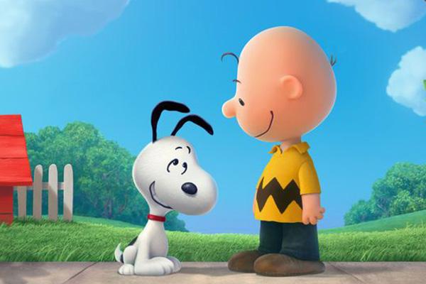 Snoopy y Charlie Brown.  Foto: Blue Sky Studios.