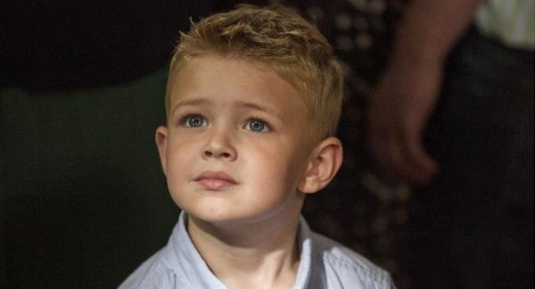 """Connor Corum interpreta a Colton Burpo en """"Heaven is for Real""""."""