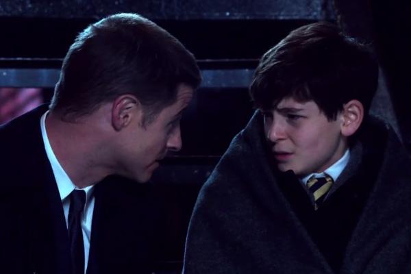 """Ben McKenzie y David Mazouz interpretarán al detective James Gordon y al joven Bruce Wayne en """"Gotham""""."""