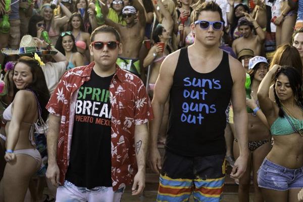 """Jonah Hill y Channing Tatum protagonizan """"22 Jump Street"""".  Foto: Columbia Pictures."""
