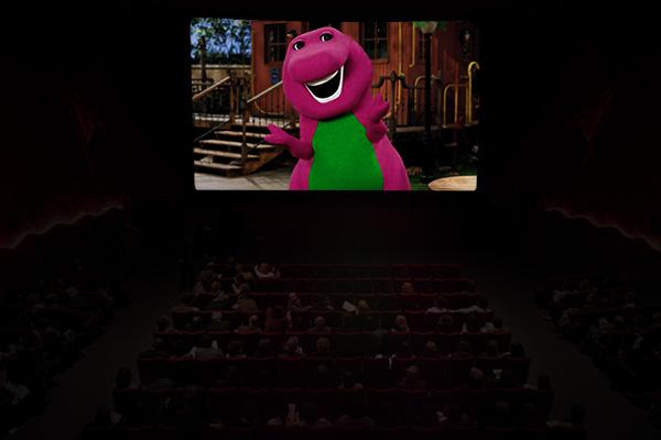 ¿En serio que entraste por la foto de Barney?  No me hables... Montaje: Joz Terra.