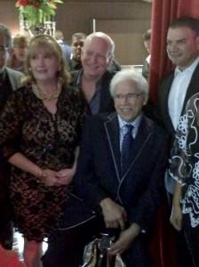 Johnny Pacheco, durante la gala del Festival Internacional de Cine Fine Arts 2014.