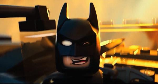 "LEGO Batman siendo ""Awesome"" en palabras de Emmet."