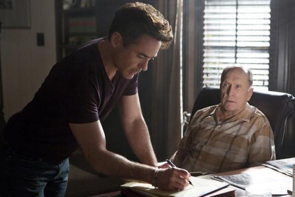 "Robert Downey Jr. y Robert Duvall protagonizan ""The Judge"".  Foto: Claire Folger/Warner Bros."