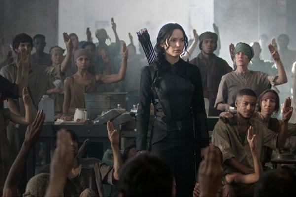 Jennifer Lawrence retoma el rol de la arquera Katniss Everdeen.  Foto: Lionsgate.