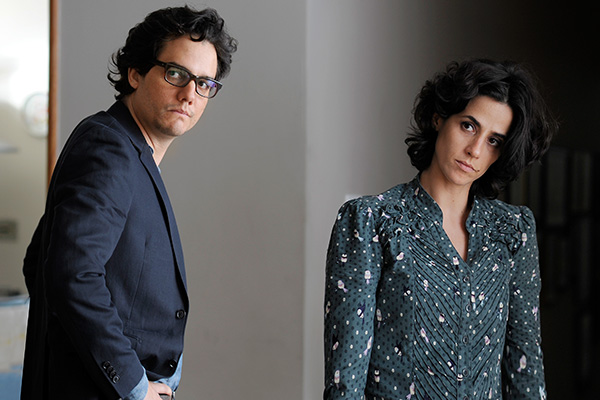 "Wagner Moura y Mariana Lima en ""A Busca""  Foto: Suministrada."