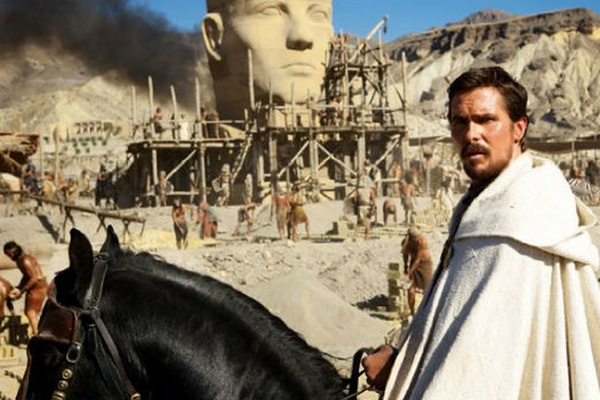 "Christian Bale es Moisés en ""Exodus: Gods and Kings"".  Foto: Twentieth Century Fox."