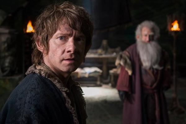 """Martin Freeman da vida nuevamente a """"Bilbo Baggins"""" en el filme.  Foto: Mark Pokorny/Warner Bros. Entertainment y Metro-Goldwyn-Mayer Pictures."""