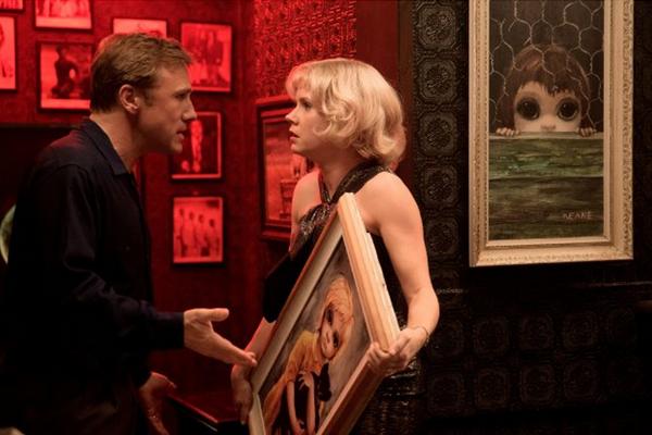 """Christoph Waltz y Amy Adams protagonizan """"Big Eyes"""".  Foto: The Weinstein Company."""