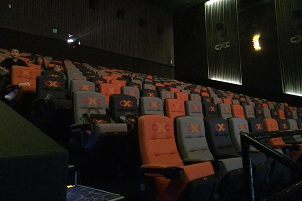 Las sillas de la sala.