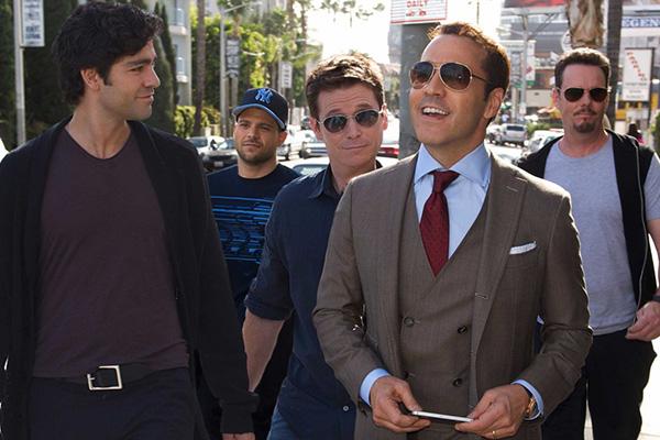 """El elenco principal de """"Entourage"""".  Foto: Warner Bros."""