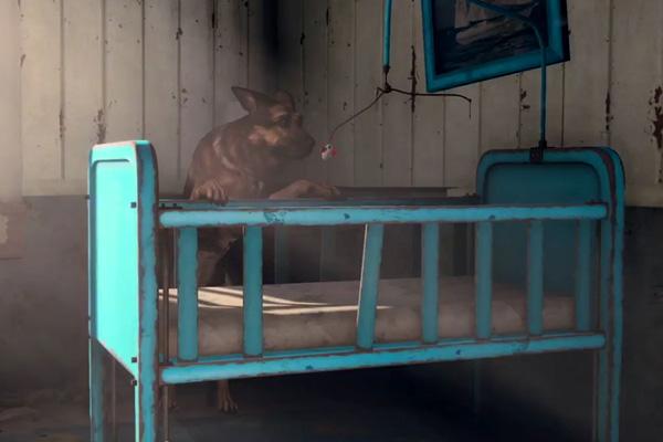 """El perro, principal protagonista del avance de """"Fallout 4""""."""