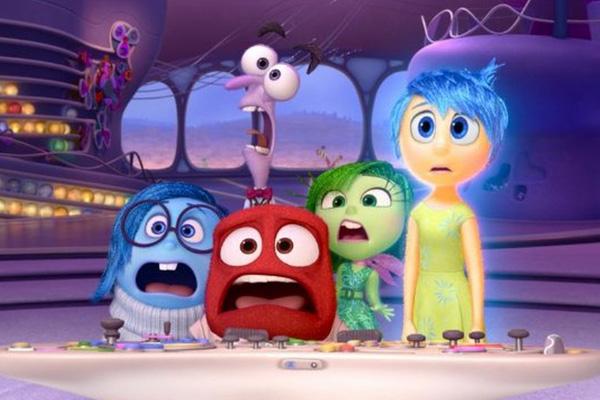 Las emociones de Riley.  Foto: Disney-Pixar.