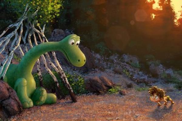 "Arte conceptual de ""The Good Dinosaur"".  Imagen:  Disney/Pixar."