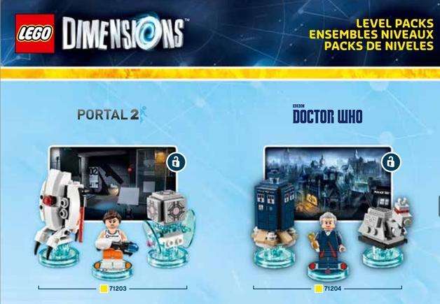 """Las figuritas de """"Doctor Who"""", y sí, 'gamer', Portal 2 también estará metido en el asunto..."""