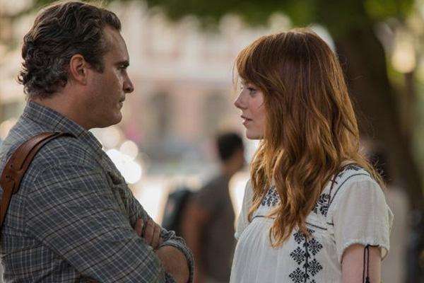 "Joaquín Phoenix y Emma Stone en ""Irrational Man"".  Foto: Sabrina Lantos / W.A.S.P."