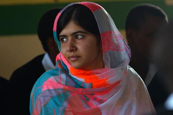 "Malala Yousafzai en ""He Named Me Malala"".  Foto: Fox Searchlight."