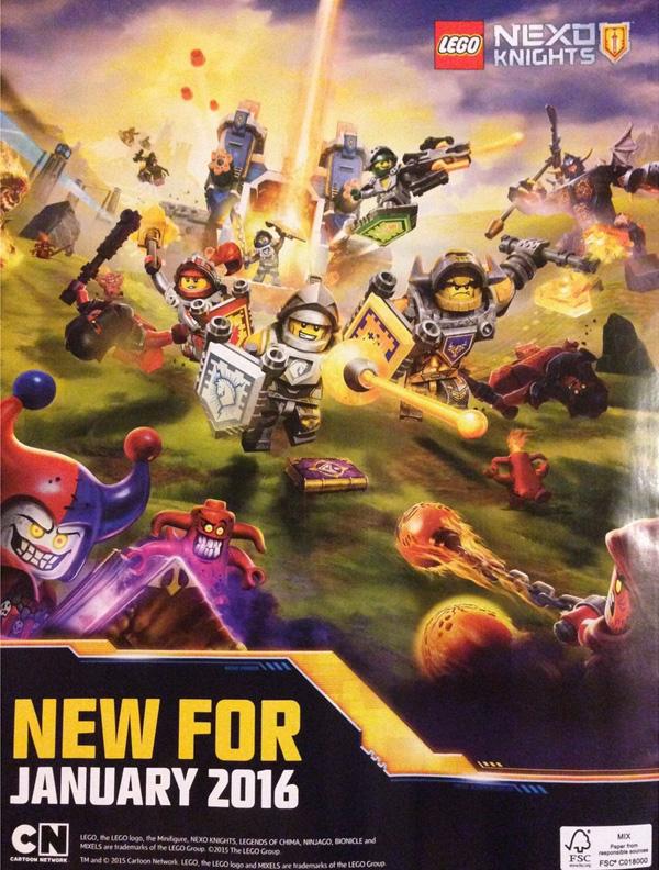 Un anuncio que muestra más de cerca a los protagonistas de esta serie.