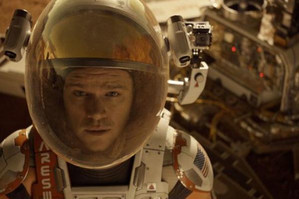 """Matt Damon protagoniza """"The Martian"""".  Foto: Twentieth Century Fox."""