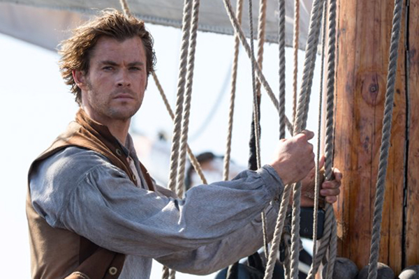 "Chris Hemsworth es un valiente ballenero en ""In the Heart of the Sea"".  Foto: Jonathan Prime / Warner Bros. Entertainment."