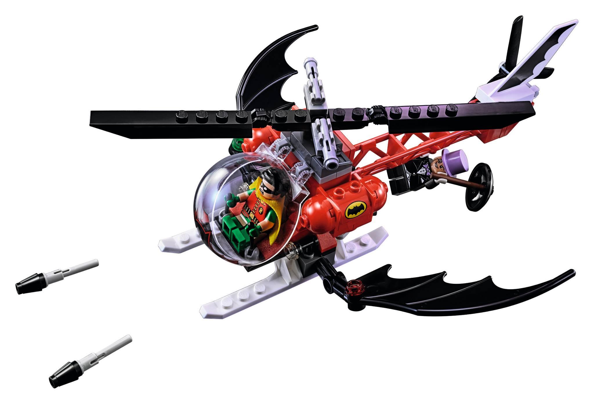 El Batcopter.