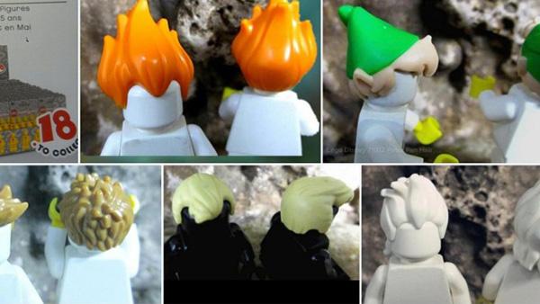 Aquí puedes apreciar algunas piezas filtradas: el pelo de Syndrome, el sombrero de Peter Pan y el pelo de Ursula, por mencionar algunos.