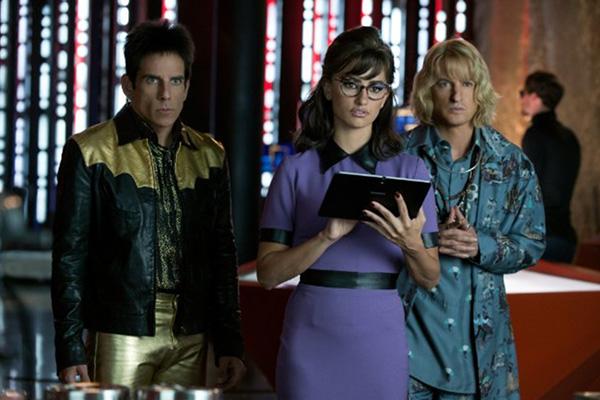 "Ben Stiller, Penélope Cruz y Owen Wilson protagonizan ""Zoolander 2"".  Foto: Wilson Webb / Paramount Pictures."