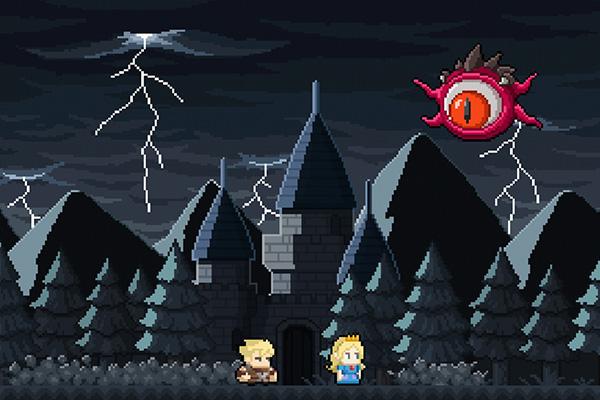 El ojo secuestrador que se lleva a la princesa para Jurutungo.