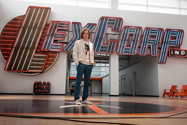 Jesse Eisenberg es Lex Luthor.