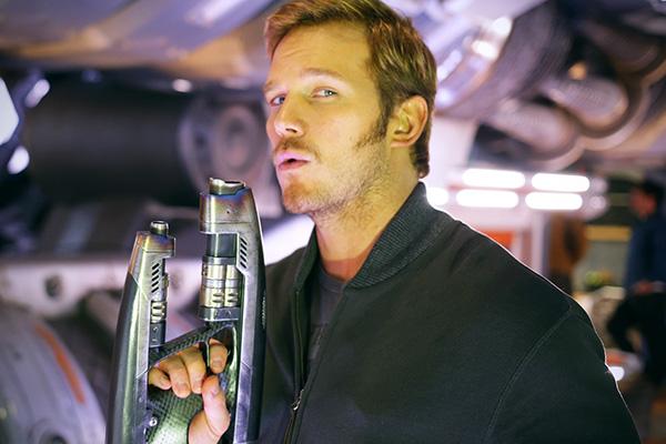 "Chris Pratt volverá a encarnar a Peter Quill/Star-Lord en ""Guardians of the Galaxy 2"".  Foto: Omaze."