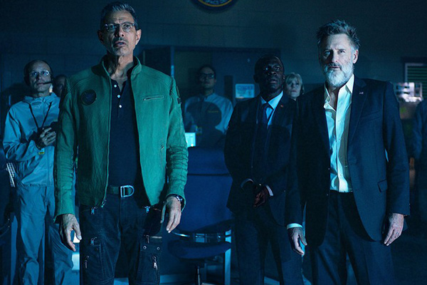 "Jeff Goldblum y Bill Pullman regresan para ""Independence Day: Resurgence"".  Foto: Twentieth Century Fox."