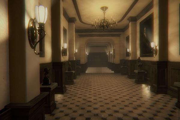 Uno se pasea por aquí y jura que en esta mansión no pasa nada.