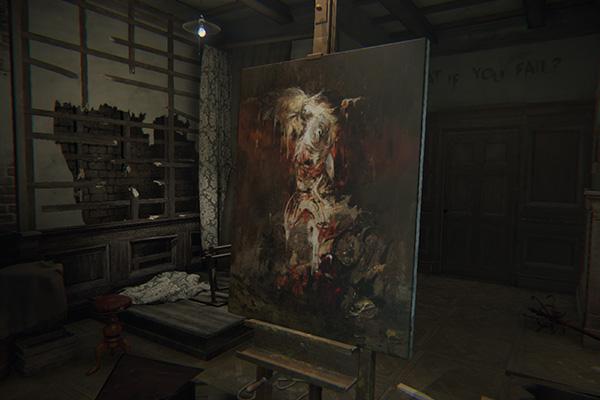 Una de las morbosas obras del pintor.