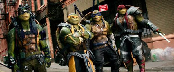 Los personajes principales, pero los héroes secundarios.  Foto: Lula Carvalho/Paramount Pictures.