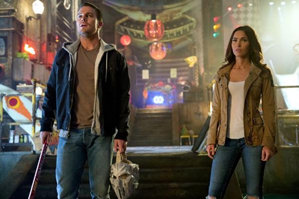 Los verdaderos héroes de la película.  Foto: Jessica Miglio/Paramount Pictures.