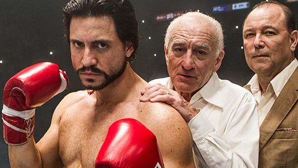 """Edgar Ramírez, Robert De Niro y Rubén Blades son algunos de los actores que trabajan en """"Hands of Stone""""."""