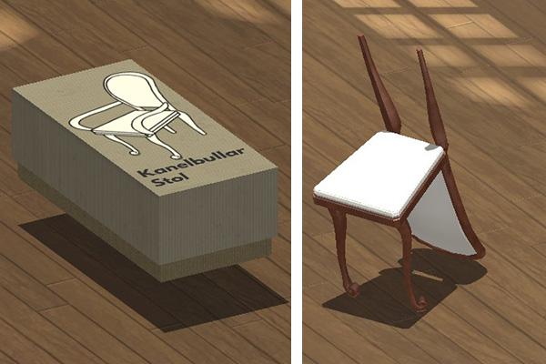 La silla arrepentida.