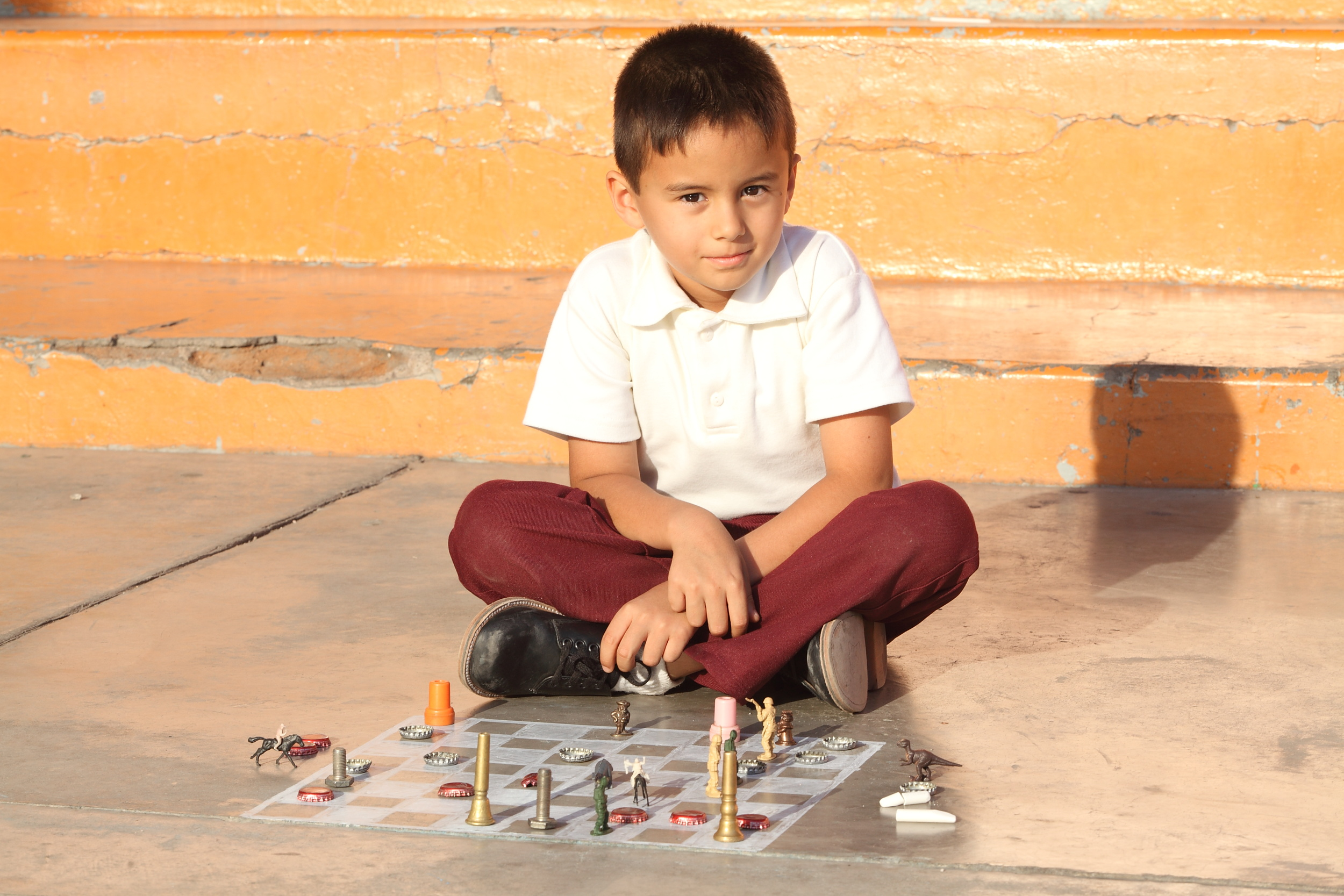 Martín Castro como Jeremías, el niño superdotado. Foto: slff.org