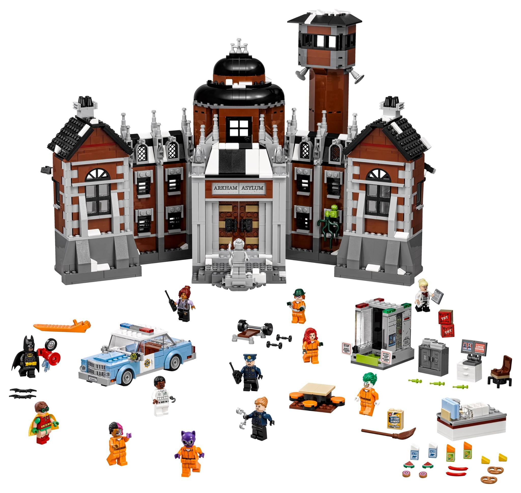 70912 Arkham Asylum, $149.99 / 1628 piezas.