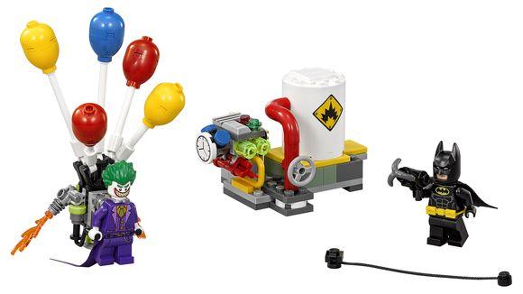 70900 The Joker Balloon Escape - $14.99 / 124 piezas.