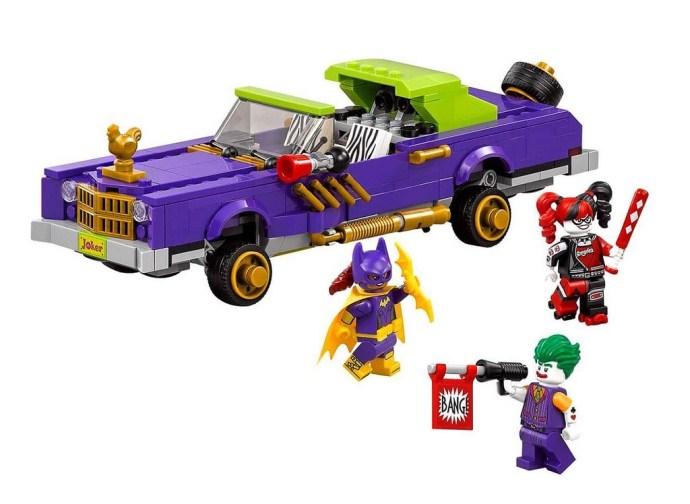 70906 The Joker Notorious Lowrider, $49.99 / 433 piezas.