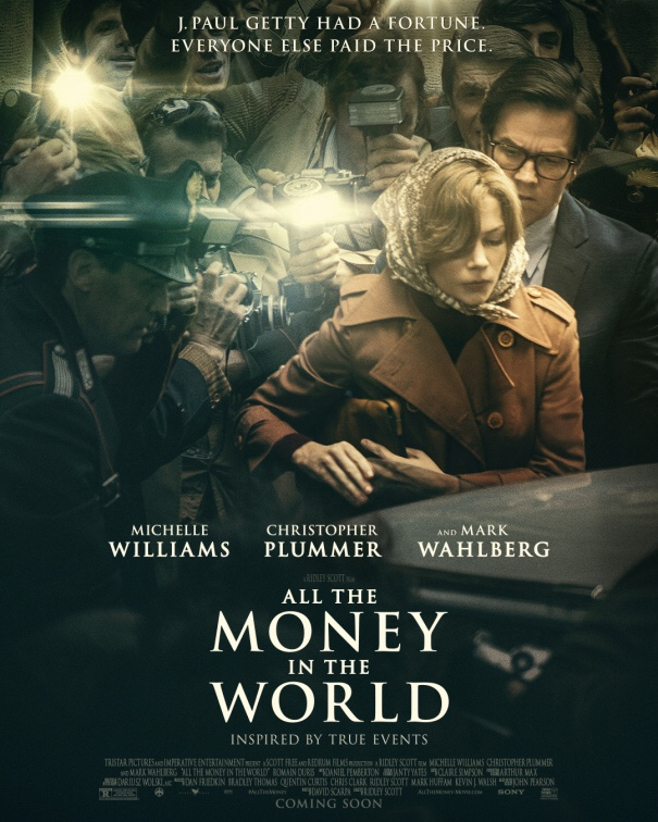 "Poster de ""All the Money in the World"" Credito: Tri Star"