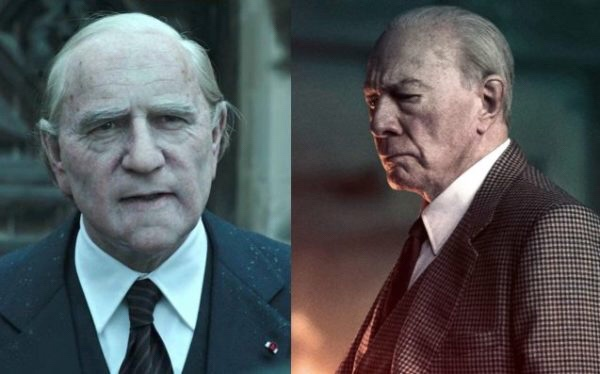 Kevin Spacey (izquierda) y Christopher Plummer (derecha) como Jean Paul Getty