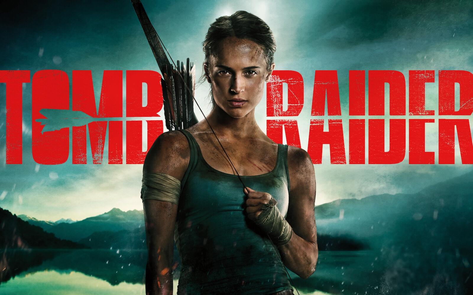 Alicia Vikander como Lara Croft. Crédito: Warner Bros.